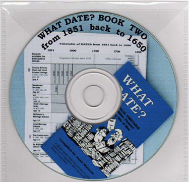 What Date? Book 2 on CD Rom